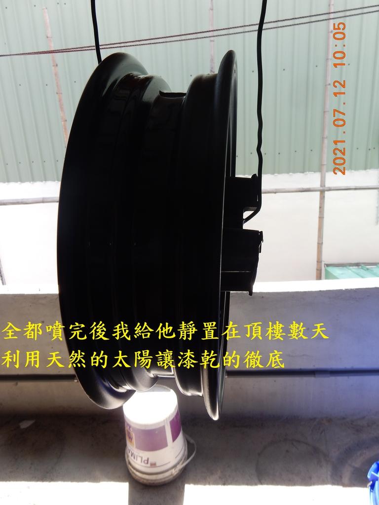 JET POWER EVO前輪鋼圈軸承拆解保養6909