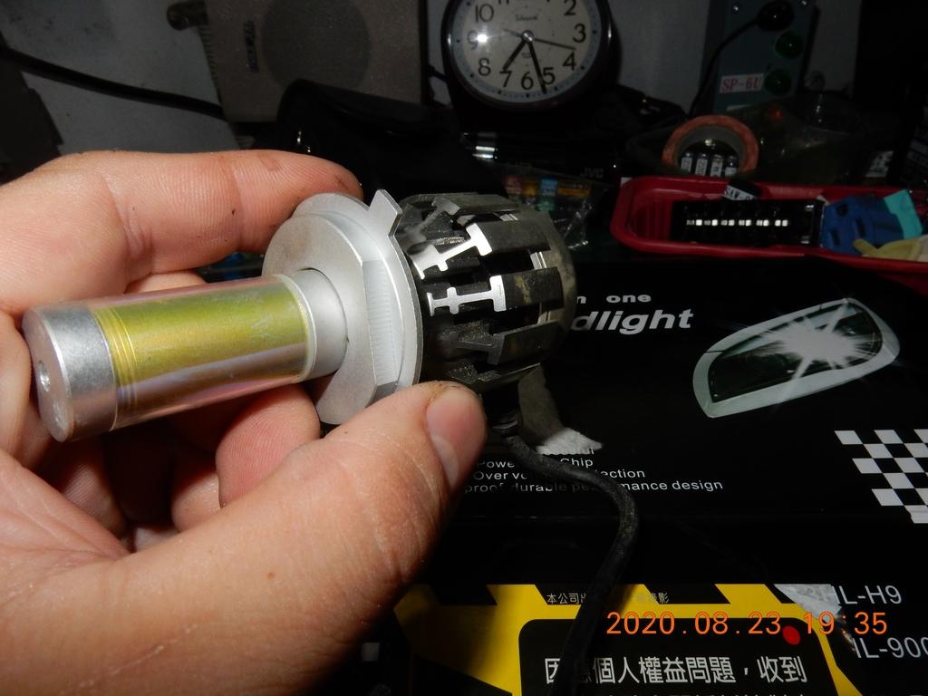 星爵G9暖白光4000K開箱與歷年燈泡耗電測試8681