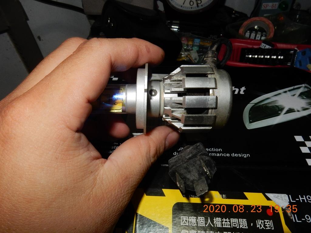 星爵G9暖白光4000K開箱與歷年燈泡耗電測試4101