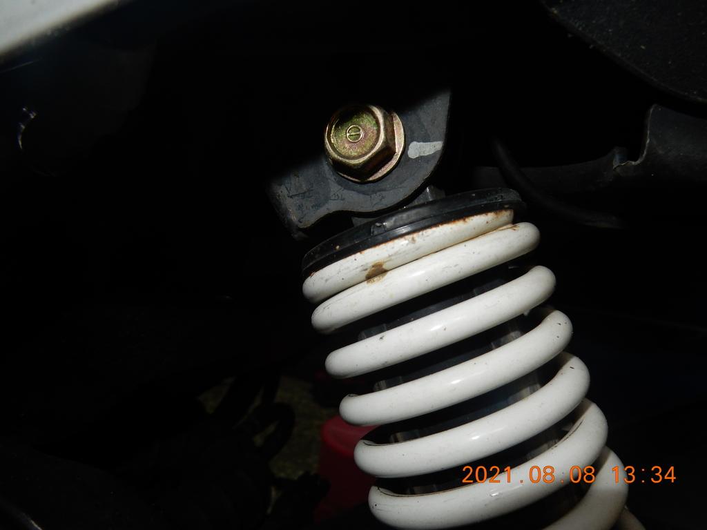 JET POWER EVO更換後避震器襯套6983