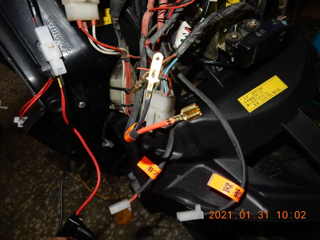 JET POWER EVO車側反光片改亮開關控制板1018