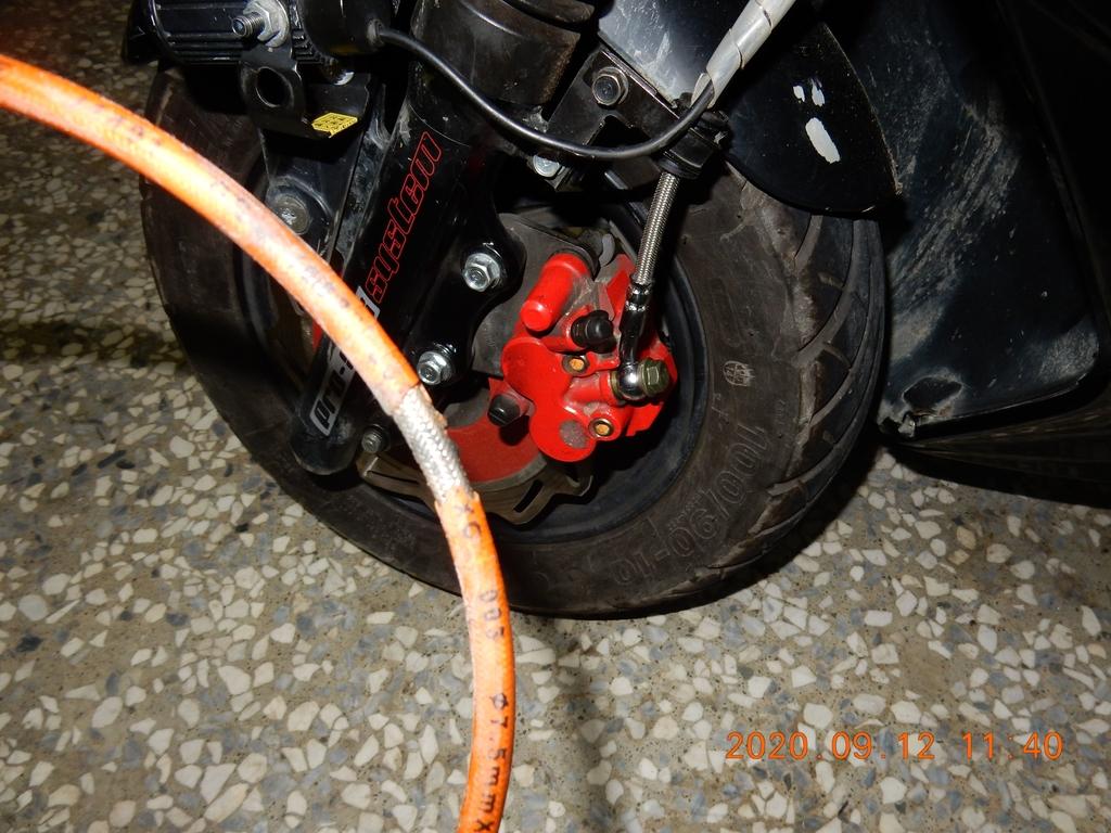 JET Power EVO更換金屬煞車油管5167