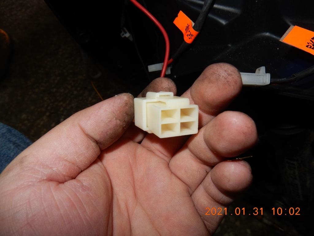 JET POWER EVO車側反光片改亮開關控制板7126