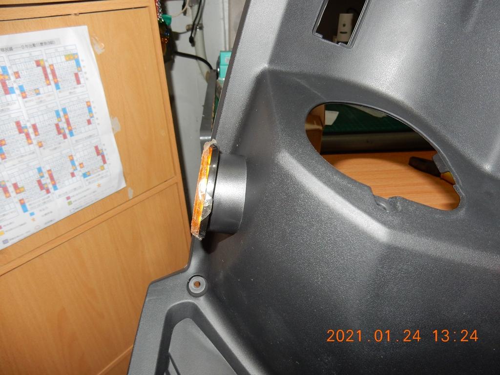 JET POWER EVO車側反光片改亮開關控制板7943