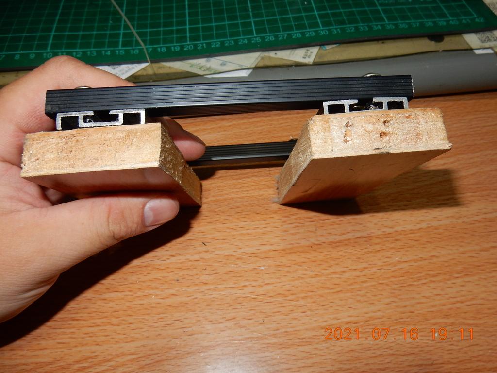 自製拆解輪框軸承之拔輪器不夠長解決方法3104