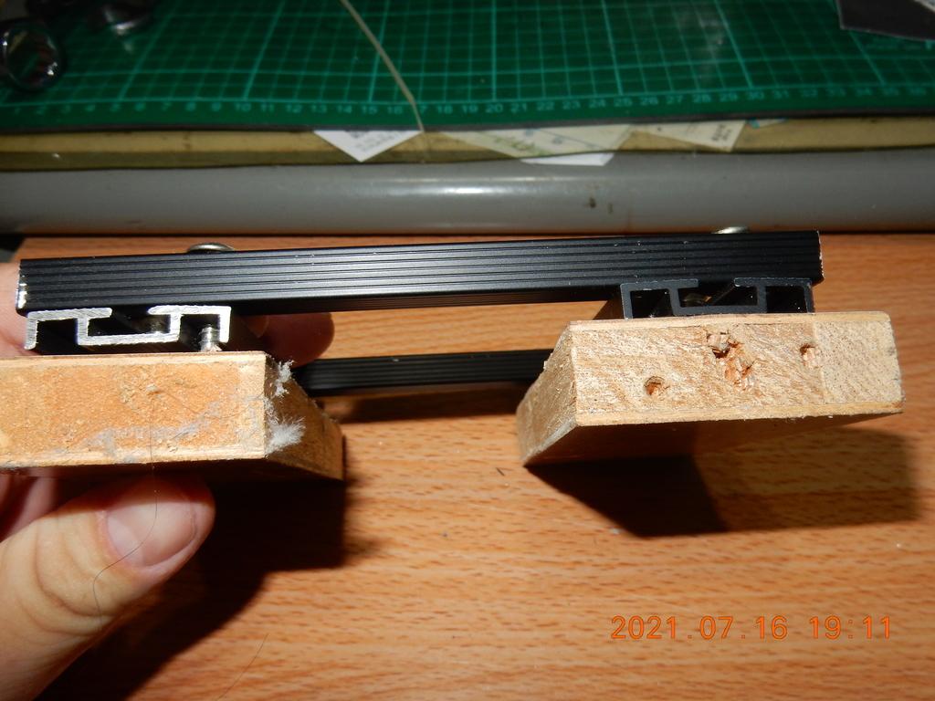 自製拆解輪框軸承之拔輪器不夠長解決方法1772