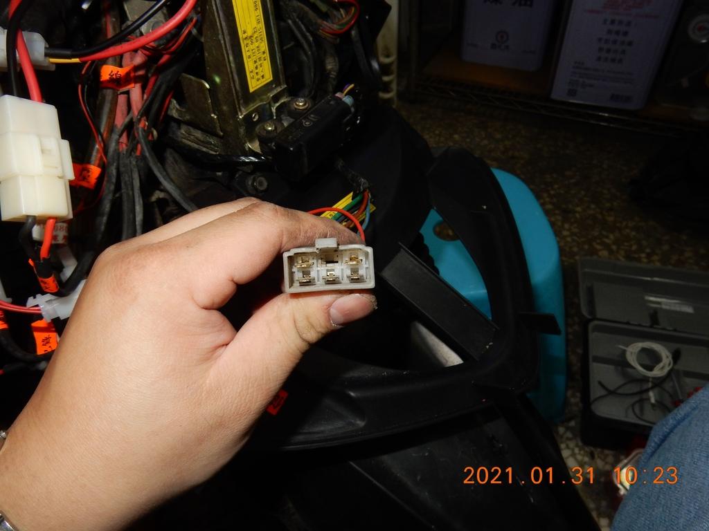 JET POWER EVO車側反光片改亮開關控制板5911