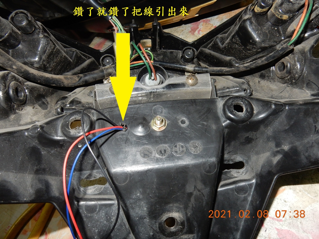 JET POWER EVO加裝第二煞車燈2820