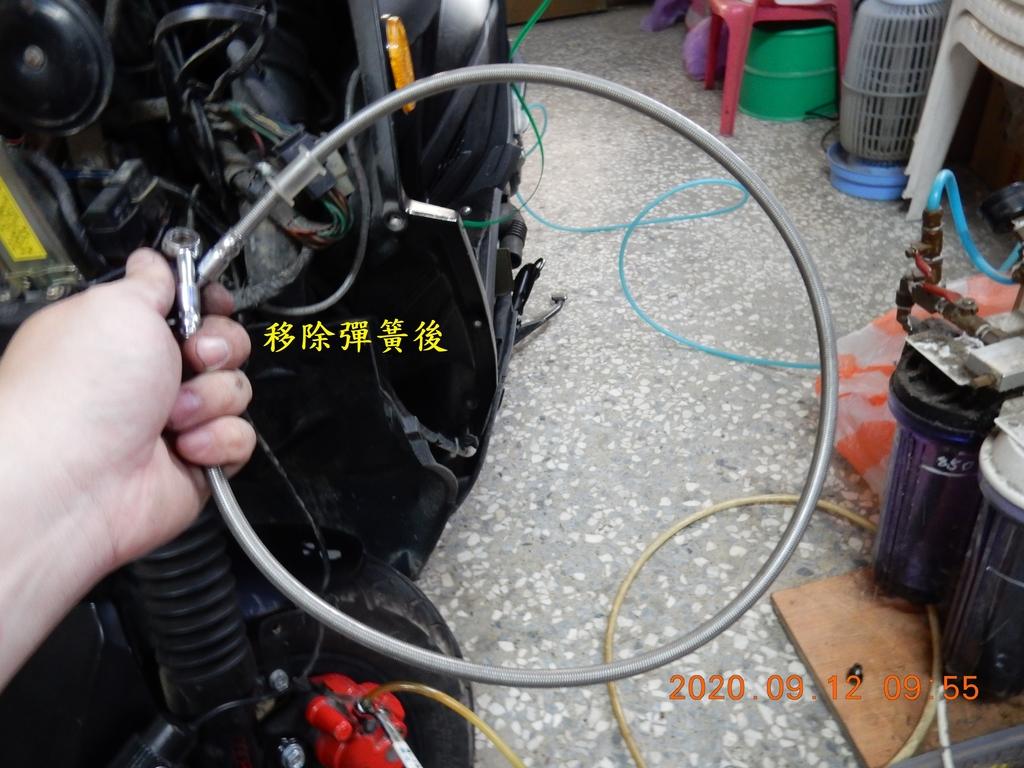 JET Power EVO更換金屬煞車油管7809
