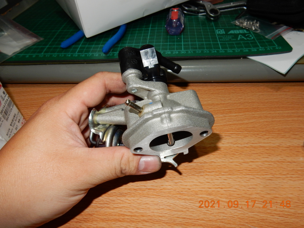 STCS進氣歧管(零件組裝)JET3651