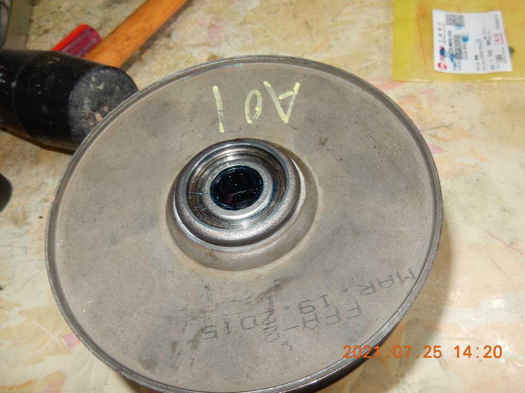 不專業開閉盤保養軸承更換(下篇)組回7755