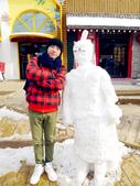 """南怡島.新村食堂:""""冰""""馬俑"""