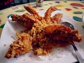 新加坡美食:麥片蝦