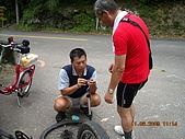 98福山單車之旅:陳組長的馬「破風」了!