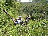 20051029沙溪大社環線:小心草皮下的坑洞