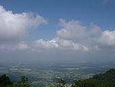 北大武山登山口:第二次休息遠眺