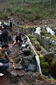 07.11.14.北海道.羊蹄湧水公園:供遊客取水的渠道