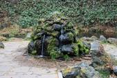 07.11.14.北海道.羊蹄湧水公園:旁邊一塊湧水的石頭