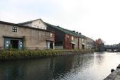 07.11.14.北海道.小樽運河:換個角度拍個倉庫景色
