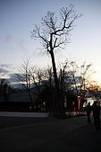 07.11.13.北海道.支笏湖:剛進來沒多久天就慢慢暗了
