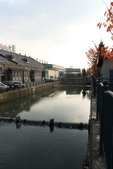 07.11.14.北海道.小樽運河:另一側的運河景色