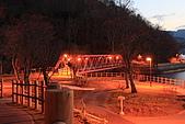 07.11.13.北海道.支笏湖:湖畔的橋,沒走過去所以不知道會通到哪