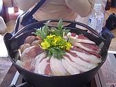 20070302伊豆賞櫻五日遊:豬鍋終於來了~