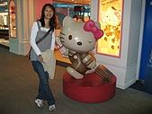 98年北海道自由行:一航與二航間的Kitty