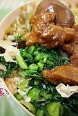 台灣鐵路-圓形木片盒懷舊排骨菜飯便當:2010-0407-007.JPG