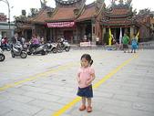 楊美美2歲半至3歲:台中南屯老街慶端午~看戲