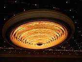 2008.1澳門-酒店之旅:金沙酒店外候車道上的燈飾