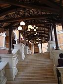 2008.1澳門-酒店之旅:威尼斯人的長梯-由下往上