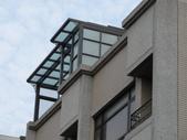 玻璃屋:竹北市國勝街玻璃屋採光罩