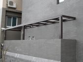 玻璃屋:人子社區後陽台玻璃屋工程