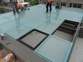 玻璃屋:郡昌鋼鋁門窗玻璃屋採光罩鋼加鋁系列(竹東社區)