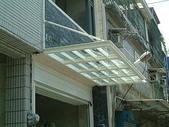 凸窗.雨遮:竹東東寧路店面雨遮