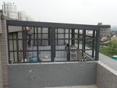 玻璃屋:竹北市耘集社區頂樓晾衣間