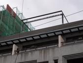 玻璃屋:竹東鎮在叢紅H型鋼+鋁合金玻璃屋