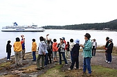 同學會 (二) Galiano Island 嘉利安諾島:回頭船 來時坐的渡輪