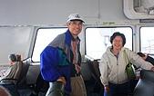 同學會 (二) Galiano Island 嘉利安諾島:報名前,邦良兄鼓吹生態之旅。張邦良吉祥、楊純惠吉祥