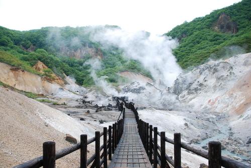 北海道的溫泉天國『登別溫泉』