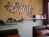 20080524 Pash Diner 傻子廚房:牆上的框,是打從一開始這家店的記錄使