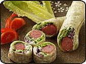 肉類料理:鮮蔬香腸捲