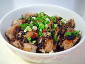 肉類料理:鼓汁排骨