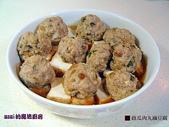 肉類料理:蔭瓜肉丸滷豆腐 (電鍋菜)