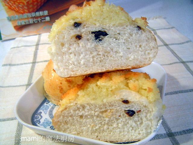 醬&內餡:椰絲葡萄超軟麵包.JPG