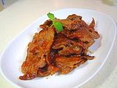 肉類料理:自製烤肉片
