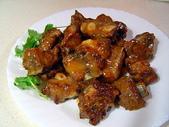 肉類料理:橙汁排骨