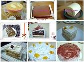 蛋糕の作品:戚風蛋糕的應用