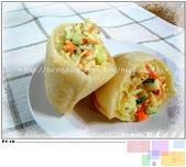 麵包の作品:口袋麵包~~咖哩雞肉沙拉